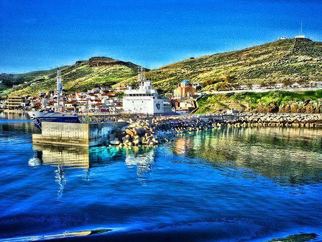 Korissia's port
