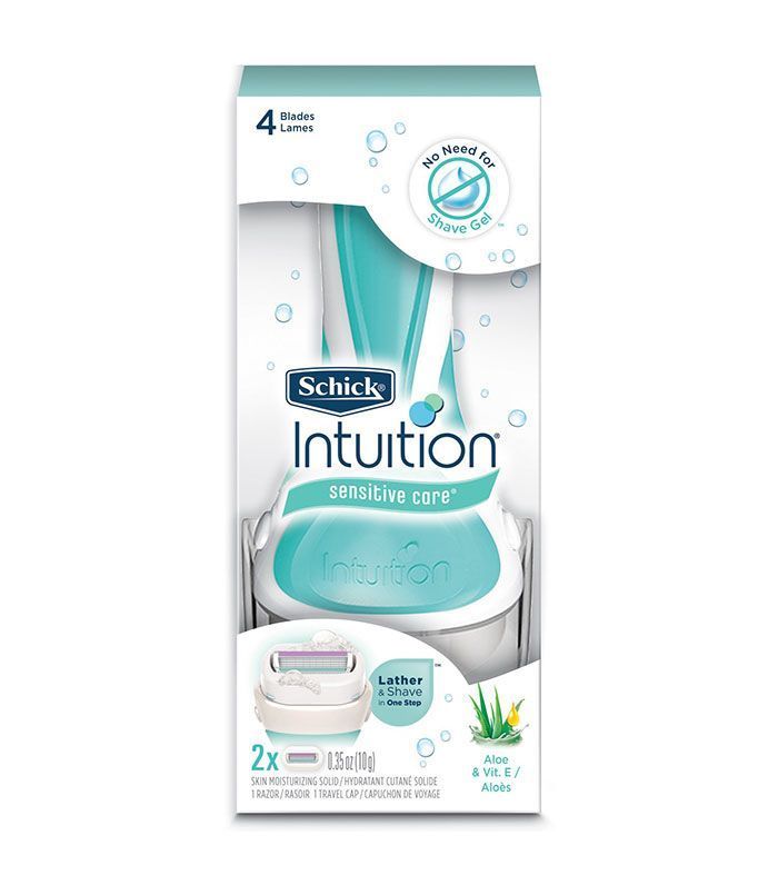 Schick Intuition Sensitive Care Razor For Women Fragrance Free Products Schick Intuition Razor