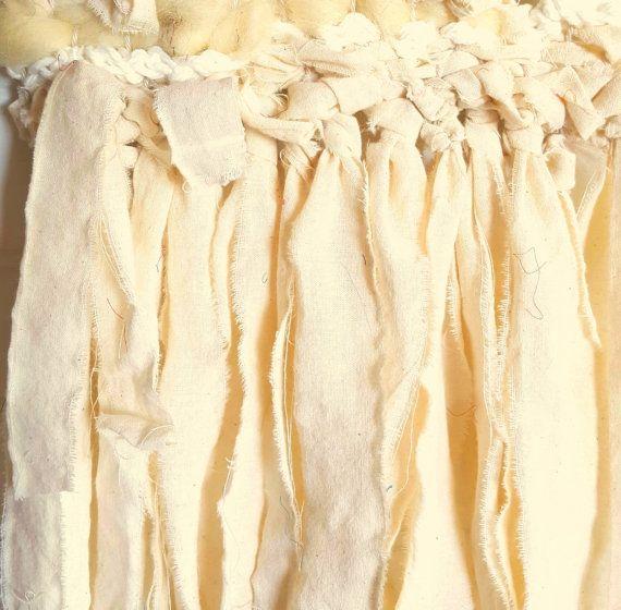 Tejido del colgante de pared arte de la fibra por SimpleChaosLab
