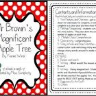 Mr Brown's Magnificent Apple Tree by Yvonne Winer~ A week of reading activities    Read the book daily for a week and complete an activity a day - oh...