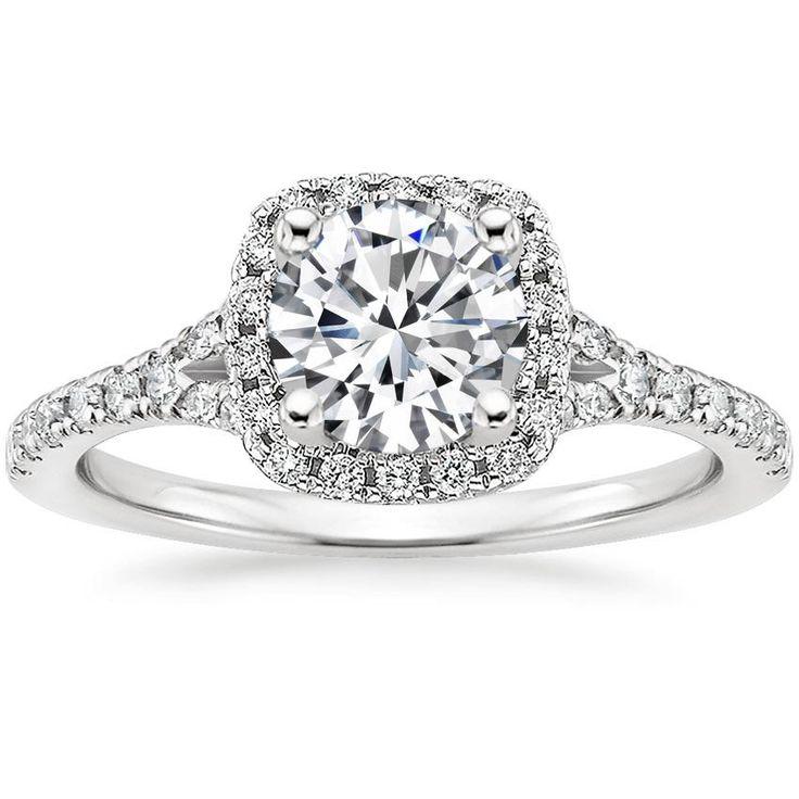 Joy Diamond-Verlobungsring im Marquise-Schliff – 18 Karat Weißgold (Einstellungspreis)