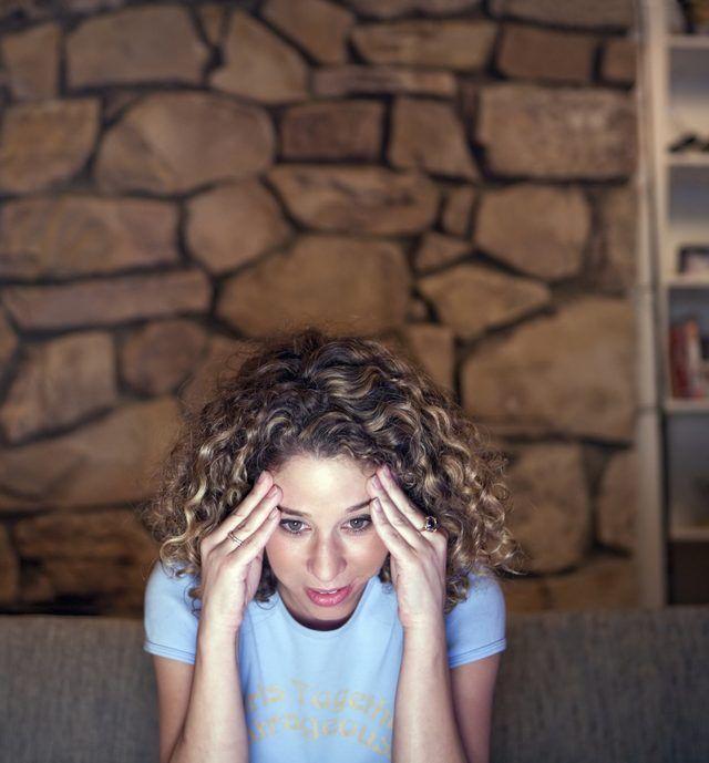 Hormonal headaches are common.