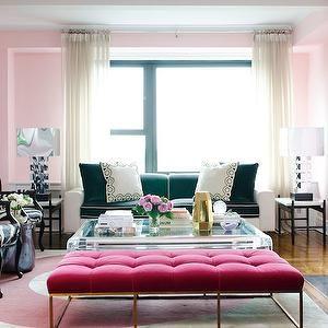 389 best Pink Living Rooms images on Pinterest