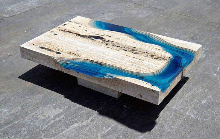 Lagoon Tables by Alexandre Chapelin – Fubiz Media