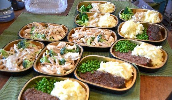 Homemade Frozen Meals--Creamy Herb Chicken