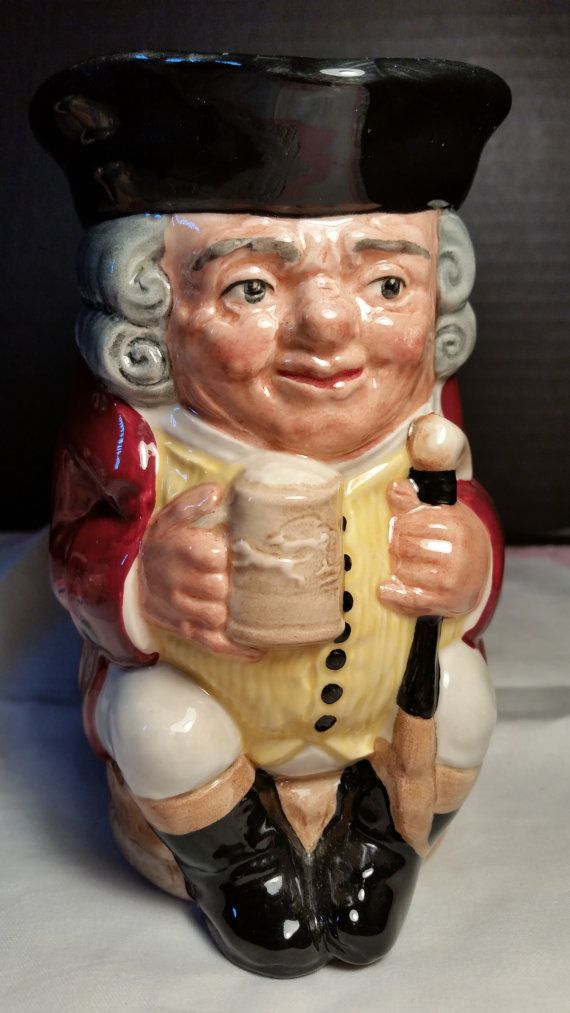 Jolly Toby Royal Doulton Character Toby by ShellysSelectSalvage  .....................................Please save this pin.   ............................................................. Click on this link!.. http://www.ebay.com/usr/prestige_online