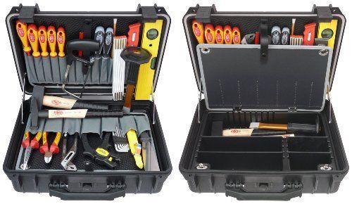 Famex 688-10 Mallette à outils pour électricien 31 pièces (Import Allemagne): Price:269.9 Assortiment complet d'outils pour les travaux…