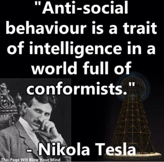 Nikola Tesla. My absolute favorite.