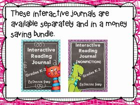 Mrs Jump's class: Interactive Reading Journals and Freebies!