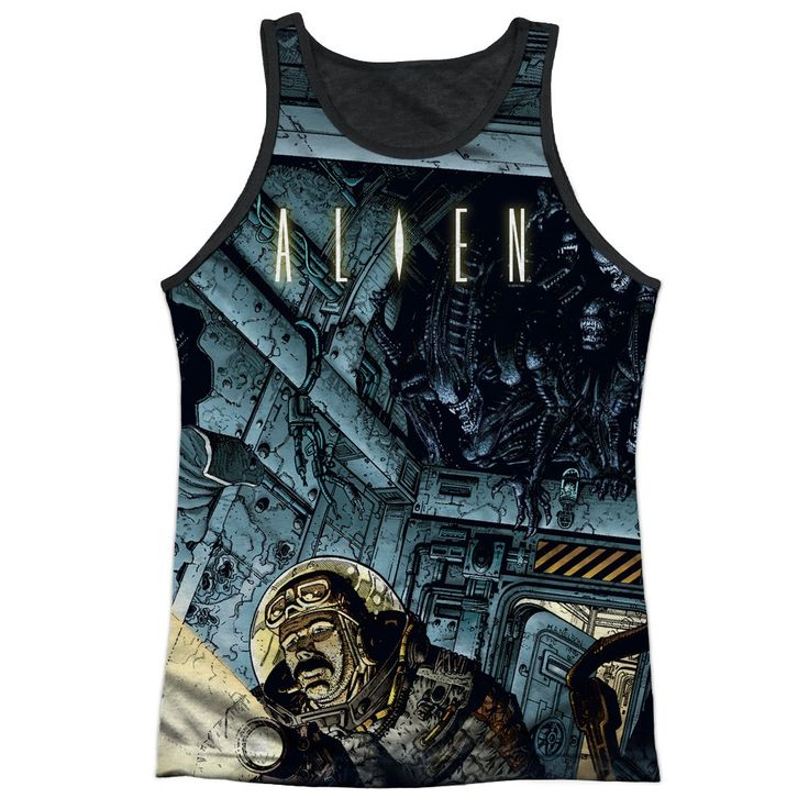 """Checkout our #LicensedGear products FREE SHIPPING + 10% OFF Coupon Code """"Official"""" Alien/lurking-adult Poly Tank Top T- Shirt - Alien/lurking-adult Poly Tank Top T- Shirt - Price: $24.99. Buy now at https://officiallylicensedgear.com/alien-lurking-adult-poly-tank-top-t-shirt-licensed"""