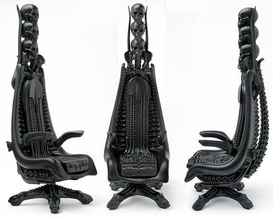10 Unusual Skeleton And Skull Themed Chairs Art Skulls