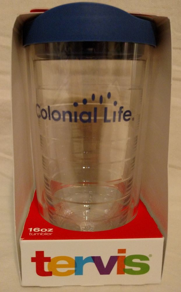 Colonial Life, Tervis 16oz Insulated Travel Cup, New!!! #Tervis