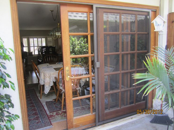 The Best Sliding Patio Screen Door Ideas On Pinterest