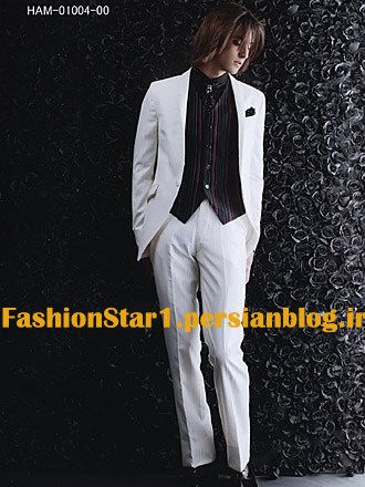 عکس مدل کت و شلوار بلند مردانه-کت و شلوار دامادی