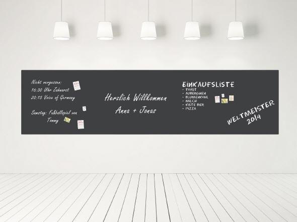 Tafelfolie-Shop - selbstklebend und magnetisch