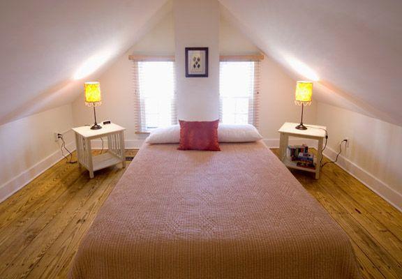 Small attic bedroom ideas  - Attic space room