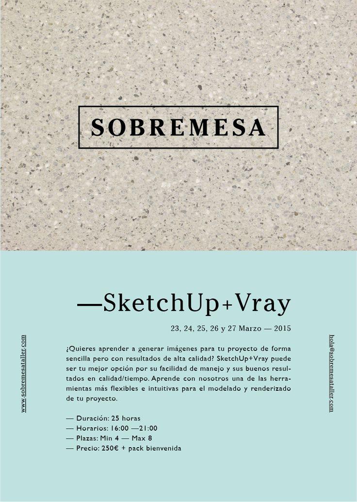 Cartel—Curso SketchUp+Vray