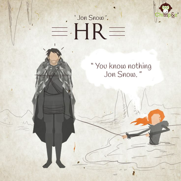 Jon Snow I Game of Agencies I Game of Thrones