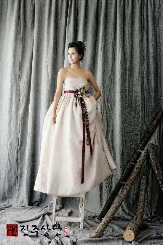hanbok wedding dress