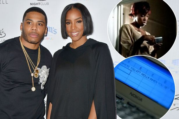 Nelly finally reveals why Kelly Rowland used excel spreadsheet to text him in Dilemma music video #nelly #finally #reveals #kelly #rowland…