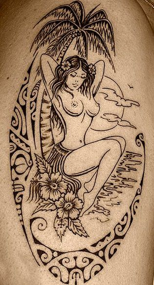 girls polynesian tattoos - Google Search