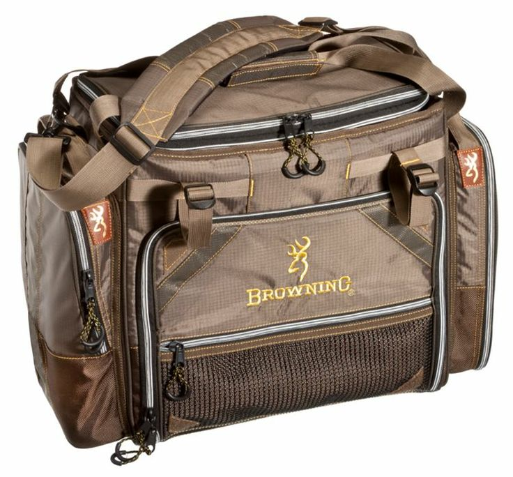 Browning fishing front loader tackle bag or system bass for Fishing tackle bag