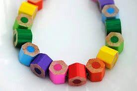 Colouring pencils diy