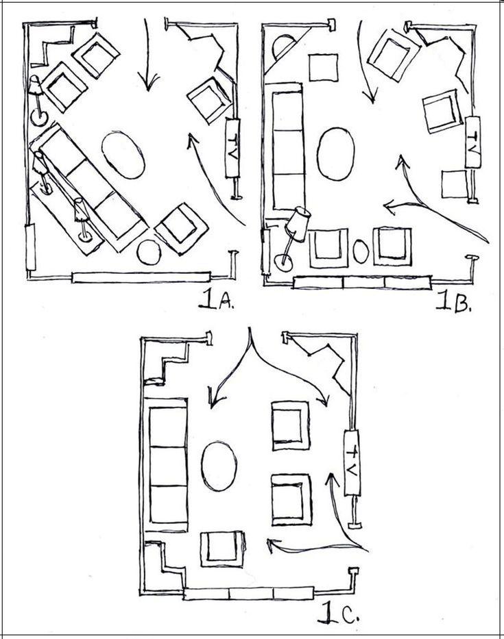 Layout Da Sala De Estar ~ Mais de 1000 ideias sobre Disposição De Móveis no Pinterest