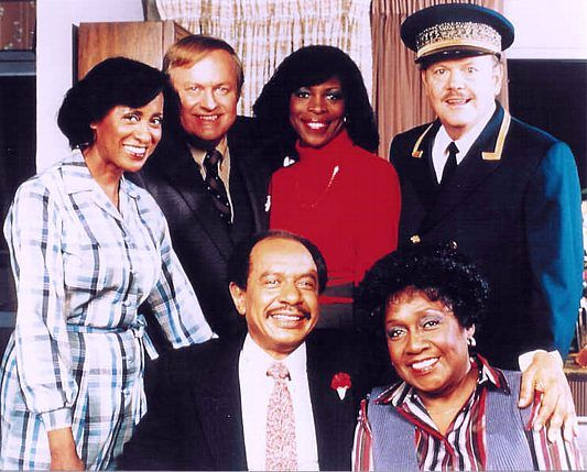"""""""Well we're movin' on up, to the east side to a deluxe apartment in the sky"""" The Jeffersons"""