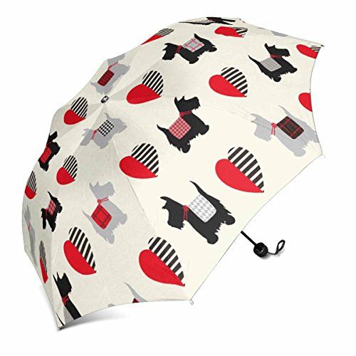 #InterestPrint #Scottie #Dog #Pattern #Foldable #Portable #Outdoor #Travel #Compact #Umbrella (43 Inch) 1.Material: 100% polyester pongee waterproof fabric and aluminium. 2.Detials: 8 ribs made from strong fiber for extra support. 3.Gripped plastic handle for firm hold. https://travel.boutiquecloset.com/product/interestprint-scottie-dog-pattern-foldable-portable-outdoor-travel-compact-umbrella-43-inch/