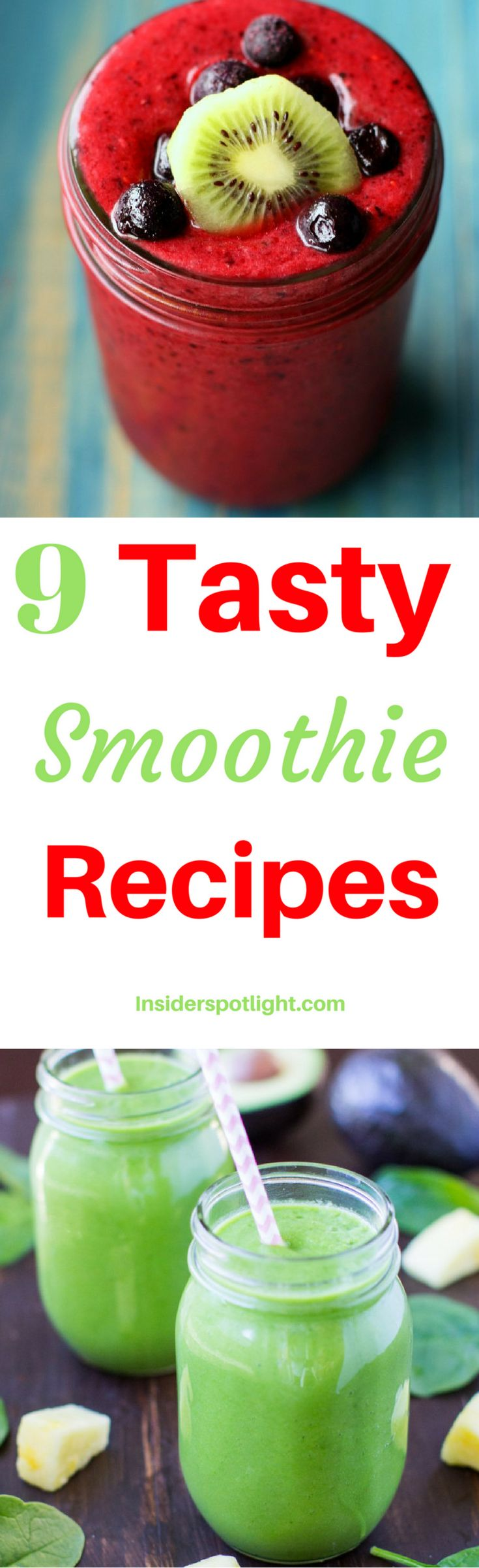*Click For Smoothie Recipes*  This post contains 9 tasty smoothie recipes perfect for any occasion. Often times people find it hard to find great tasting smoothies they can make at home. Of course you can spend time with trial and error, but I'm here to save you some time. (Healthy for weight loss healthy blackberry bowl for kids green breakfast fruit strawberry banana berry peach mango chocolate protein easy blueberry pineapple cleanse orange spinach diet fat burning raspberry kiwi ideas)