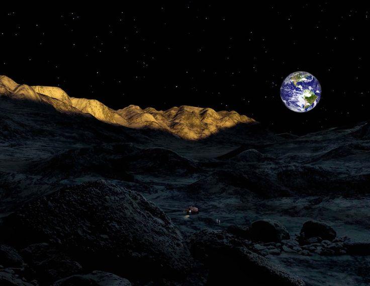 Widok z Księżyca