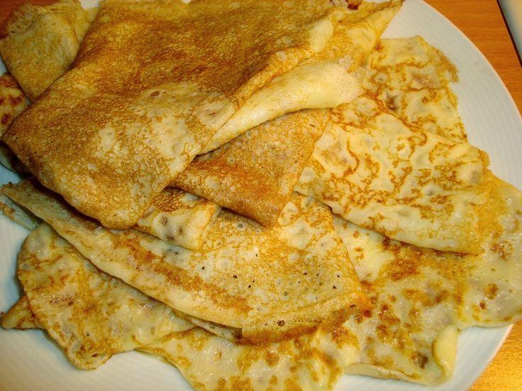 Pannkakor med maizena