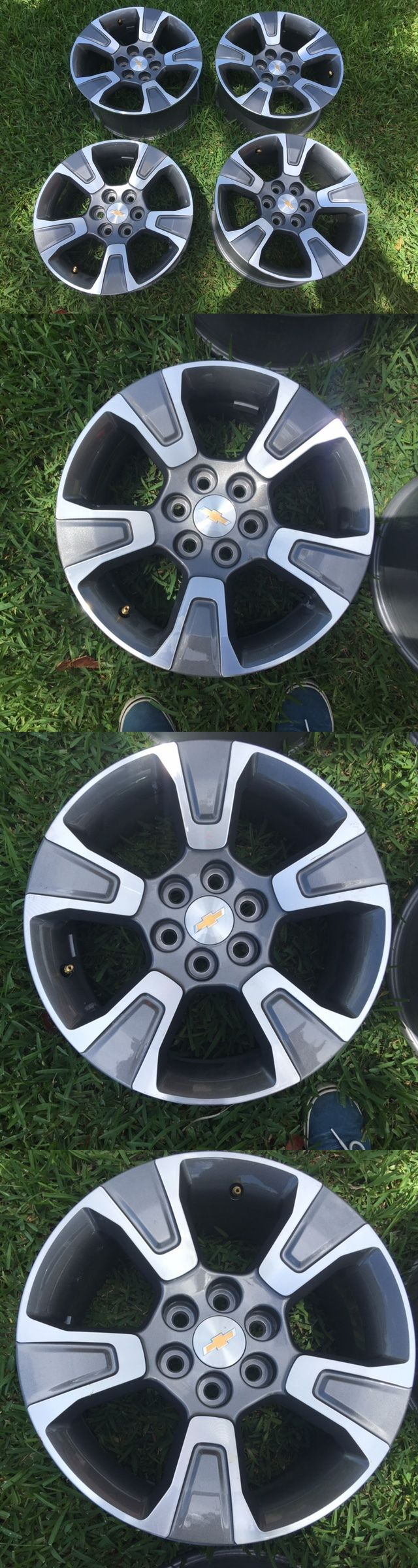 auto parts - general: 2015 2016 2017 Chevy Colorado 17 Wheels Alloy - 99% New Factory Oem Orignal -> BUY IT NOW ONLY: $270 on eBay!