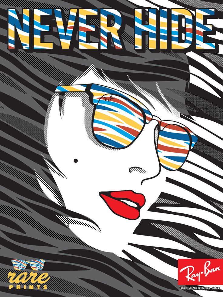 Ray-Ban Never Hide Ray-Ban #NeverHide #RayBan #RealStyle #Glasses #Sunglasses #Shades