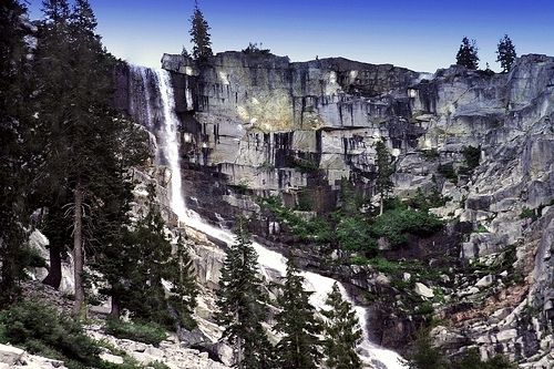 Grizzly Falls - Trinity Alps Wilderness