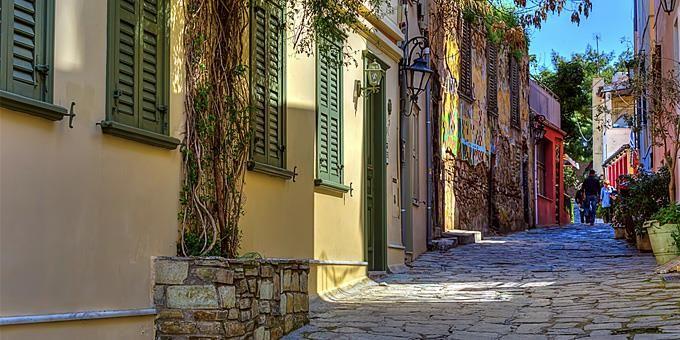 Υπέροχες διαδρομές για περίπατο στο αθηναϊκό κέντρο