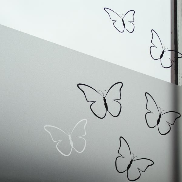 Vlinder muursticker raamsticker