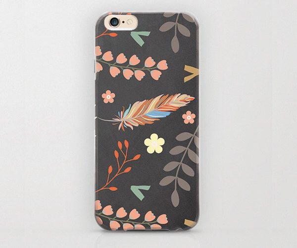 Bohemia Aztec Feather Floral Print iPhone 6 Case and Apple iPhone Covers with Unique Prints and Patterns Best iPhone 6 Case Coolest Covers by Looiko on Etsy https://www.etsy.com/listing/229121069/bohemia-aztec-feather-floral-print