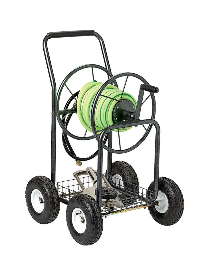 Hose Reel Cart | Garden Hose Holder | Hose Cart | Gardener's Supply