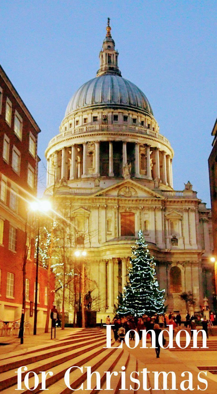 London at Christmas, information on where to find the best things to do in London at Christmas. ( St Paul's) via @worldtravelfam/