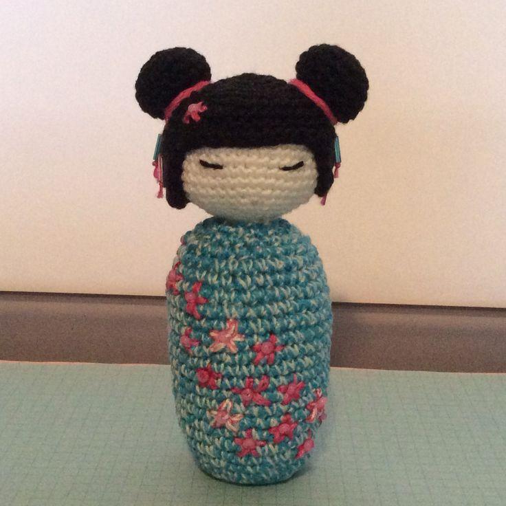 Amigurumi Geek Patterns : Amigurumi sakura kokeshi craft pinterest