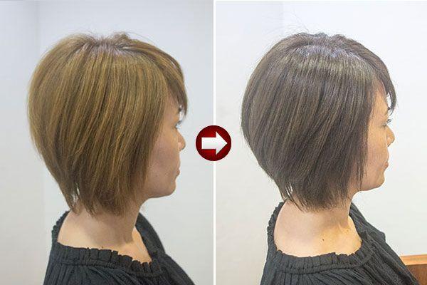 グレイヘアの女性 ありのままが本当に素敵 新たな白髪染め提案 美容室