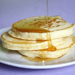 This batter makes light, fluffy, and delicious pancakes.  I have been making them for years and everyone that tries them wants the recipe.