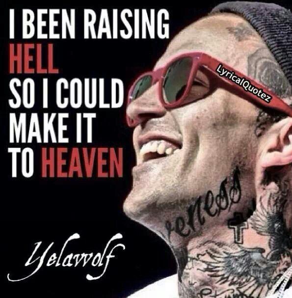 Raising hell ((maggs))