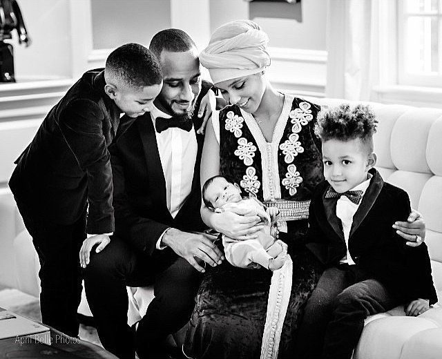 Alicia Keys and Swizz Beatz shared adorable pictures of their baby boy!