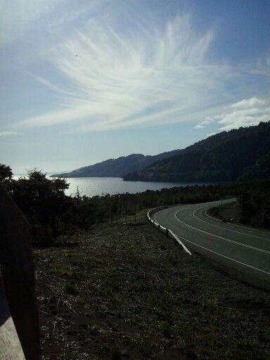 Sur de Chile, Ruta del Lago
