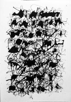 Thomas Ingmire - asemic writing