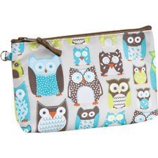 Thirty-One Thermal Mini Zipper Pouch - Life's a Hoot (Owls)