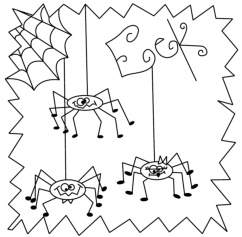 a spooky spidery treat to add to your halloween quilt projects - Halloween Hand Embroidery Patterns